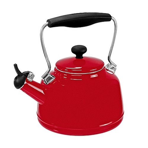 Chantal® 2 qt. Vintage Tea Kettle in Red