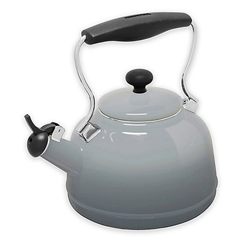 Chantal® 1.7 qt. Lake Tea Kettle in Grey