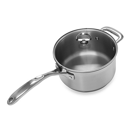 Chantal® Induction 21 Steel™ 3.5-Quart Covered Saucepan