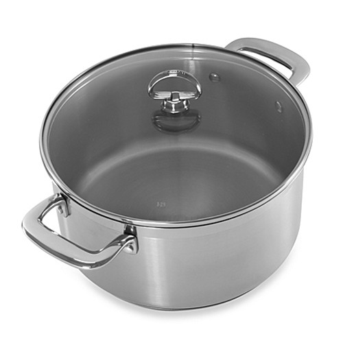 Chantal® Induction 21 Steel™ 6-Quart Covered Casserole