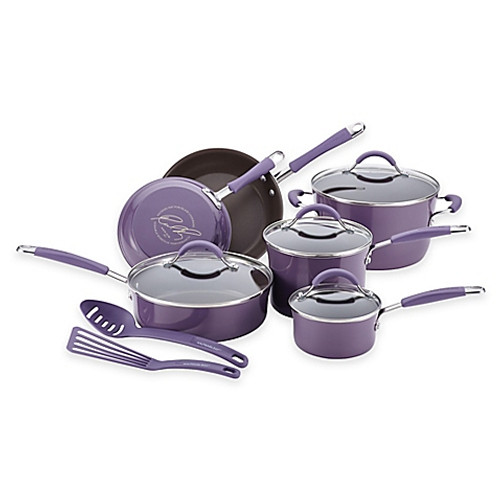 Rachael Ray™ Cucina 12-Piece Hard Enamel Cookware Set in Lavender