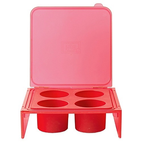 Architec® Silicone Savor Cube Tray in Red