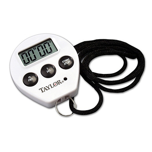 Taylor® Professional Chef Digital Timer/Stopwatch with Cord