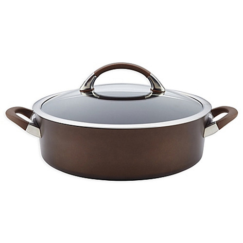 Circulon® Symmetry™ Chocolate Brown 7-Quart Dutch Oven
