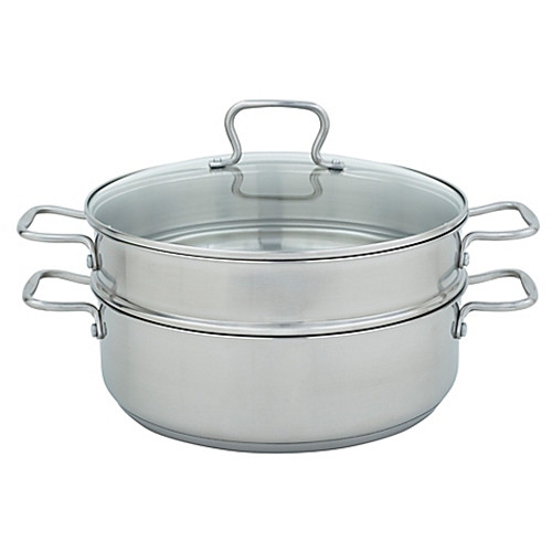Range Kleen® Stainless Steel 3-Piece 7 qt. Steamer Set