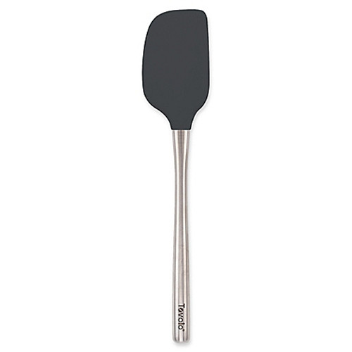 Tovolo Flex-core Stainless Steel Handled Spatula in Charcoal