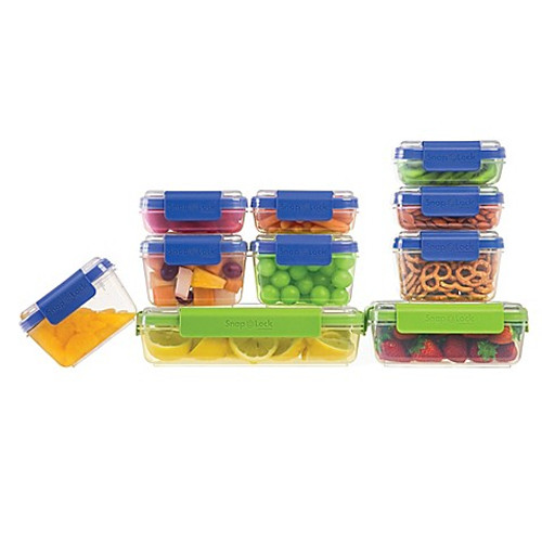 Progressive® SnapLock™ 20-Piece Container Set in Blue/Green
