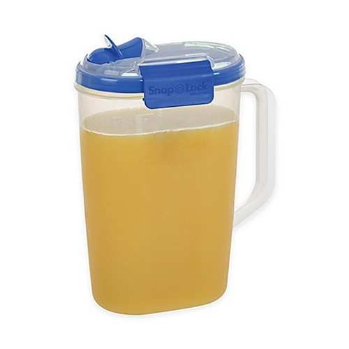 Progressive® SnapLock™ 2-Quart Juice Jug in Blue