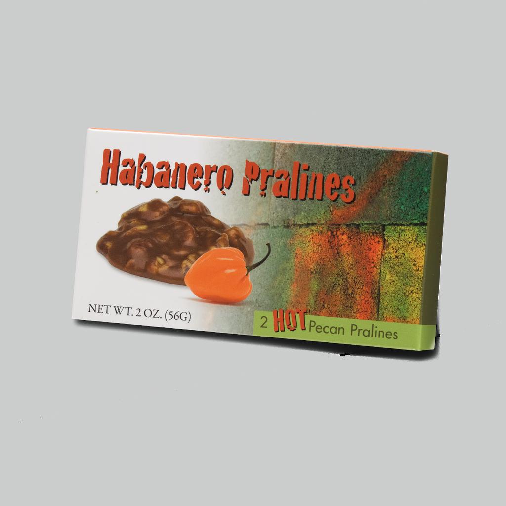 2 Piece Habanero Pralines