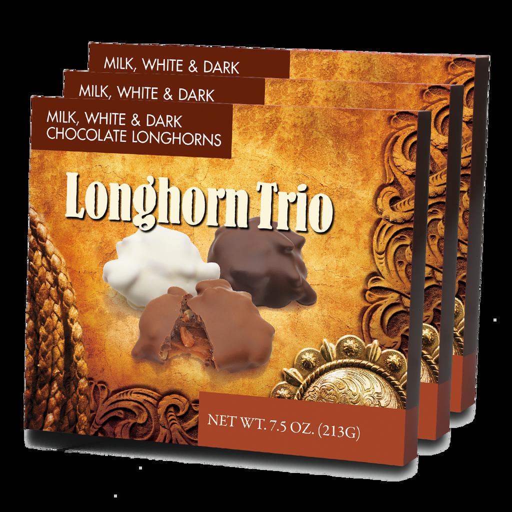 Longhorn Trio - Case of 12