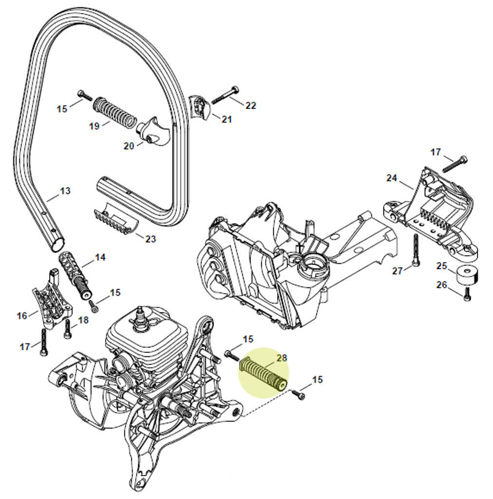 Stihl 420 Parts Diagram Rubber Foot Electrical Wiring Diagram House