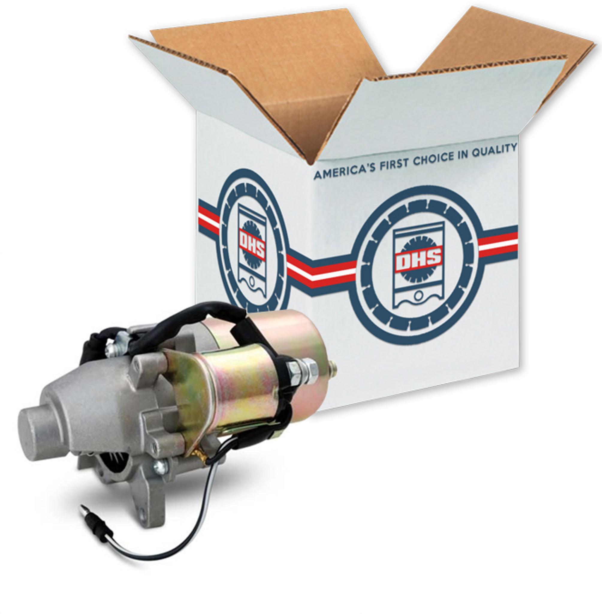 Honda gx160 gx200 electric starter motor 31210 ze1 023 for Honda motor credit payoff