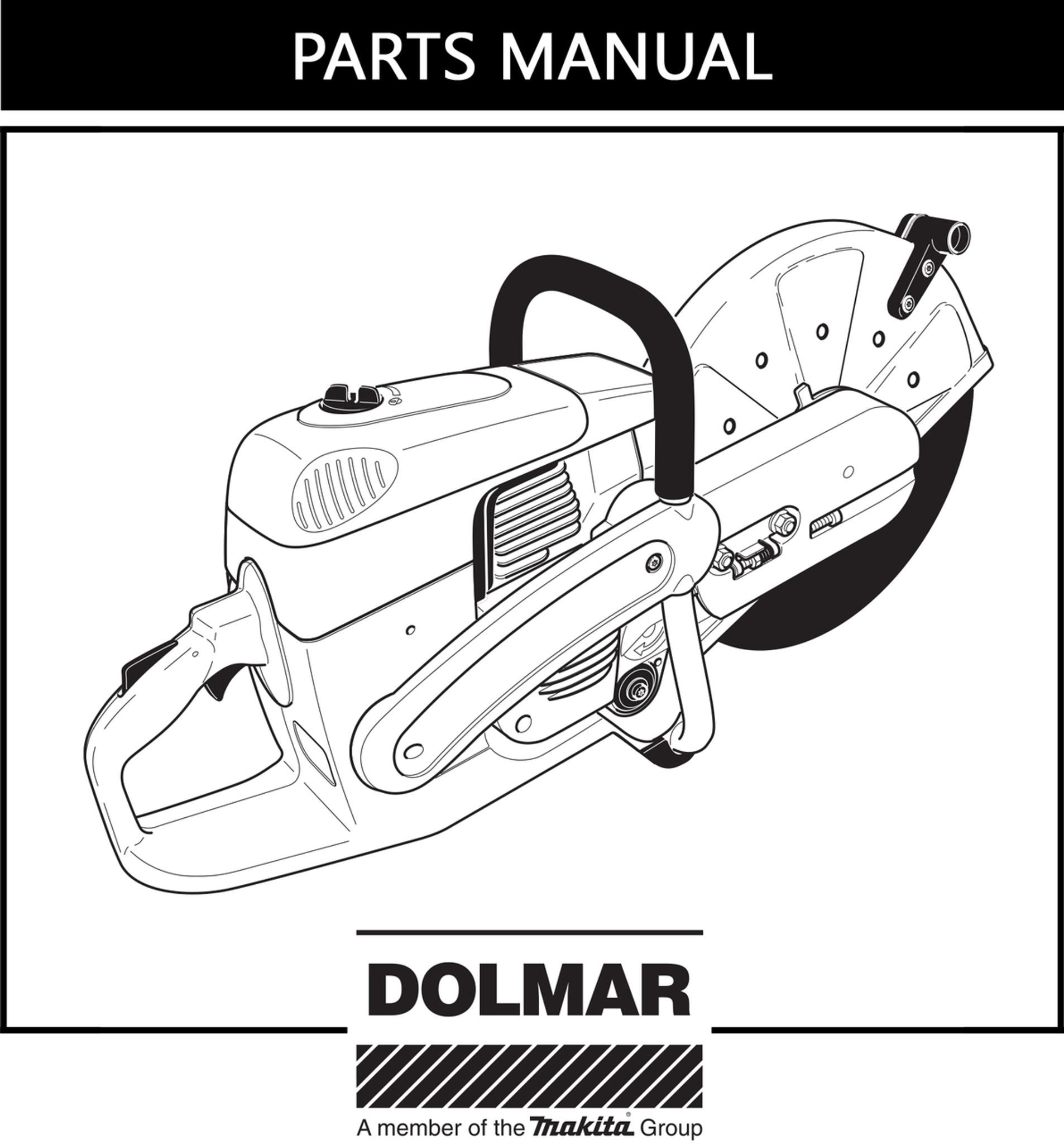 Parts Manual | Dolmar PC6414 | Free Download