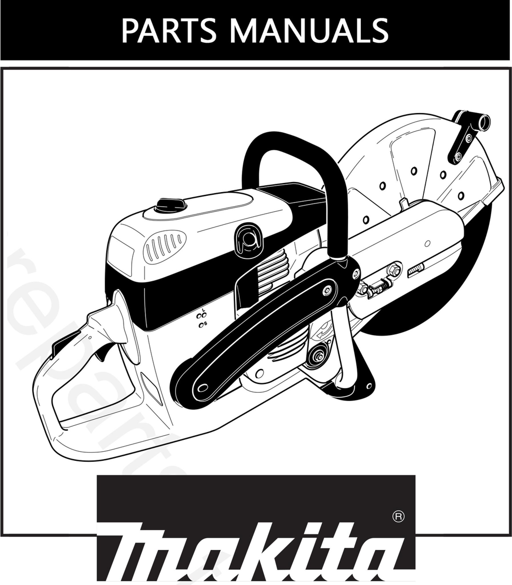 Parts Manual | Makita DPC7321 | Free Download
