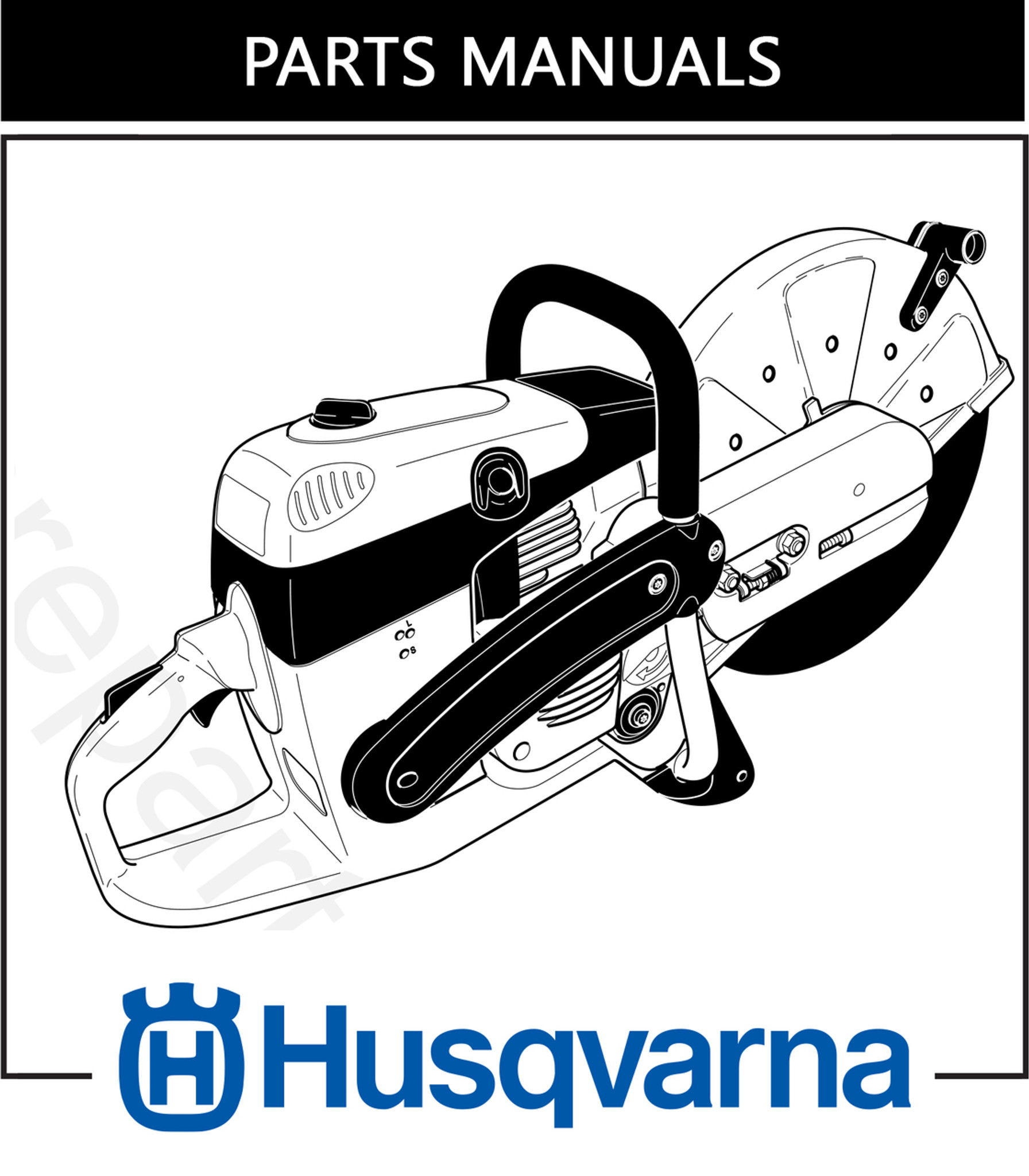 Parts Manual | Husqvarna K960 | Free Download