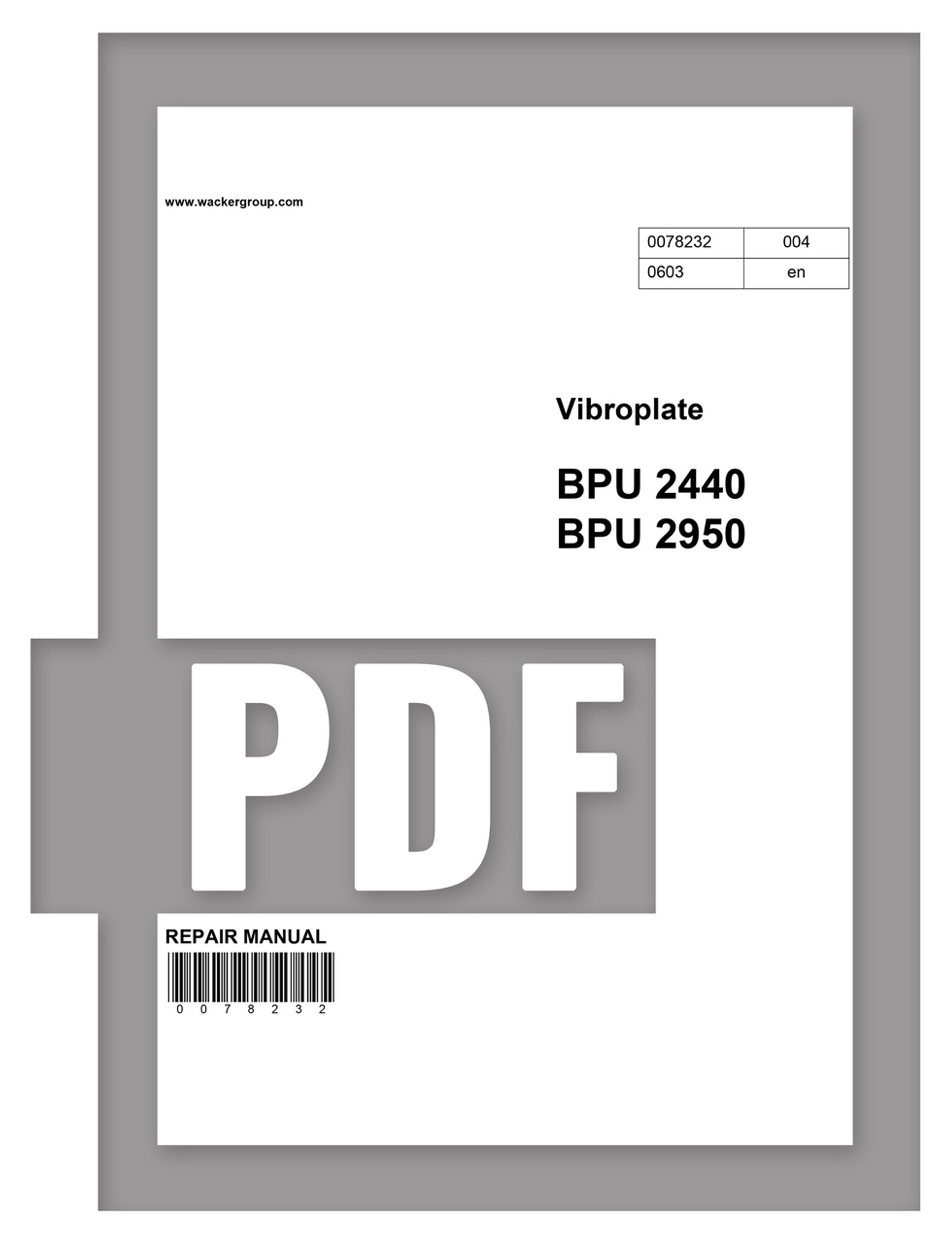 free wacker bpu2440 parts manual rh stores dhsequipmentparts com