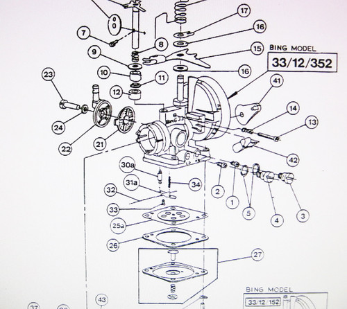 Wacker Neuson WM80 Engine Parts