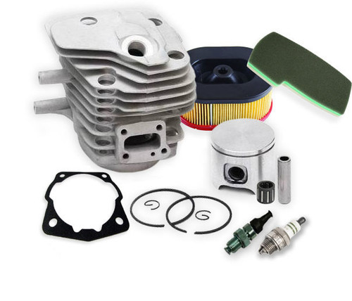 Nikasil Cylinder Overhaul Kit, Active II, Active III, w/ Deco Valve, Spark Plug, Air Filter | K650, K700 | 506 09 92-12