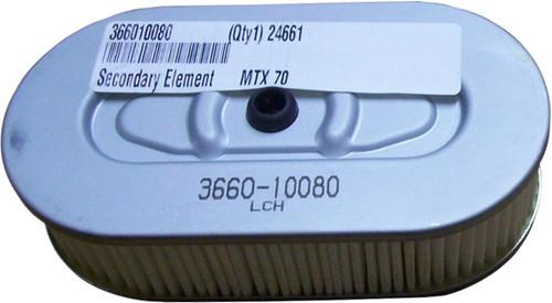 OEM Secondary Air Filter | Mikasa MTX70, MTX80, MTX90 | 366010080