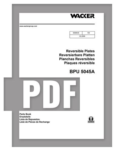 Parts Manual   BPU5045 - Item: 0008545, REV100   Free Download