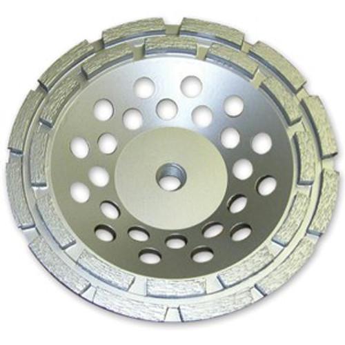 "4"" X 5/8-11 Double Row Cup Wheel | 0904DRSTCWGE5811"