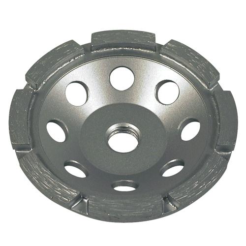 "4"" X 5/8-11 Single Row Cup Wheel | 0904SRSTCWGE5811"