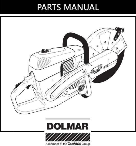 Parts Manual Dolmar Pc6435 Free Download Dhs Equipment