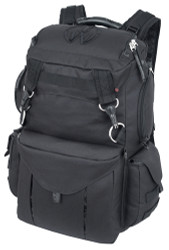 Black Urban Warrior Rucksack