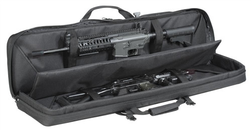 """Black 42"""" Padded Weapons Case (No B/P Straps)"""