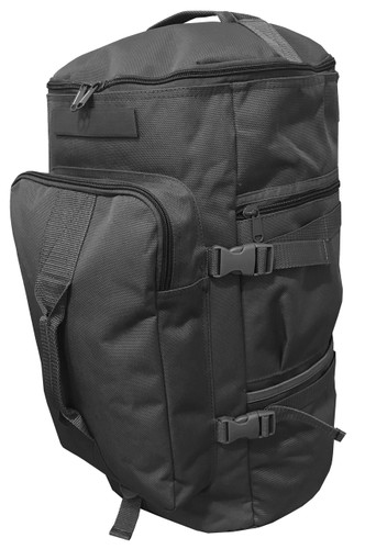"Black GTFO 20"" Top Loading Duffle Bag"