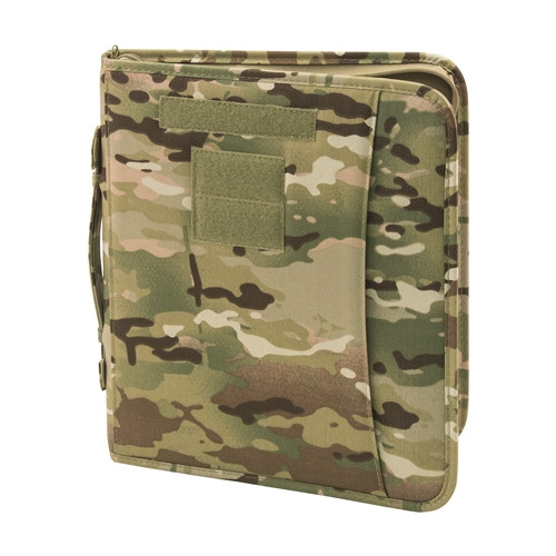 Multicam OCP Field Ready Zippered 3 Ring Binder And Padfolio