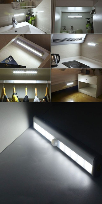 under bed led lighting. Brilliant Bed Motion Activated 10LED Closet Light  Nightlight Under BedNightstand With Bed Led Lighting