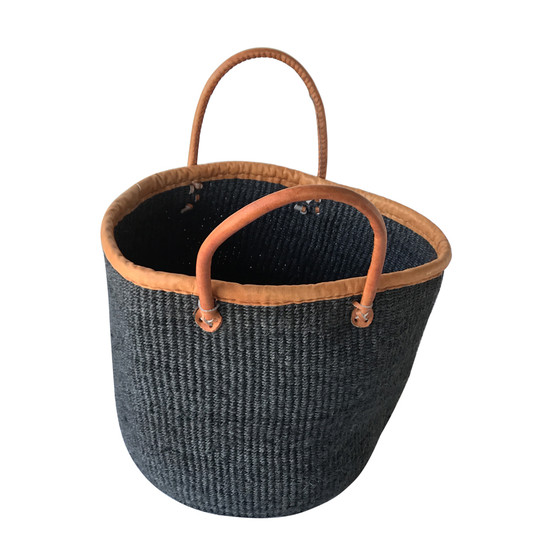 Kiondo Basket - Black | Large - Shopper, Storage, Decor