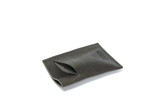 Genuine Leather Handmade Card Holder | Men's Wallet - Textured Brown
