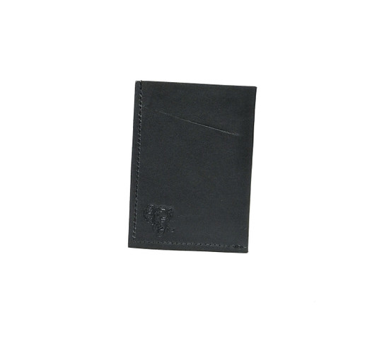 Genuine Leather Handmade Card Holder | Men's Wallet - Black