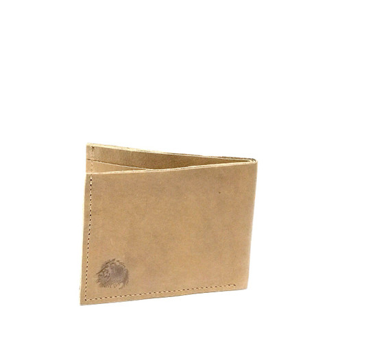 Genuine Leather Handmade Men's Wallet - Tan
