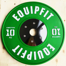EQUIPFIT COMPETITION WEIGHTLIFTING BUMPER - 10KG