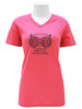 102 Womens SS Safety Pink