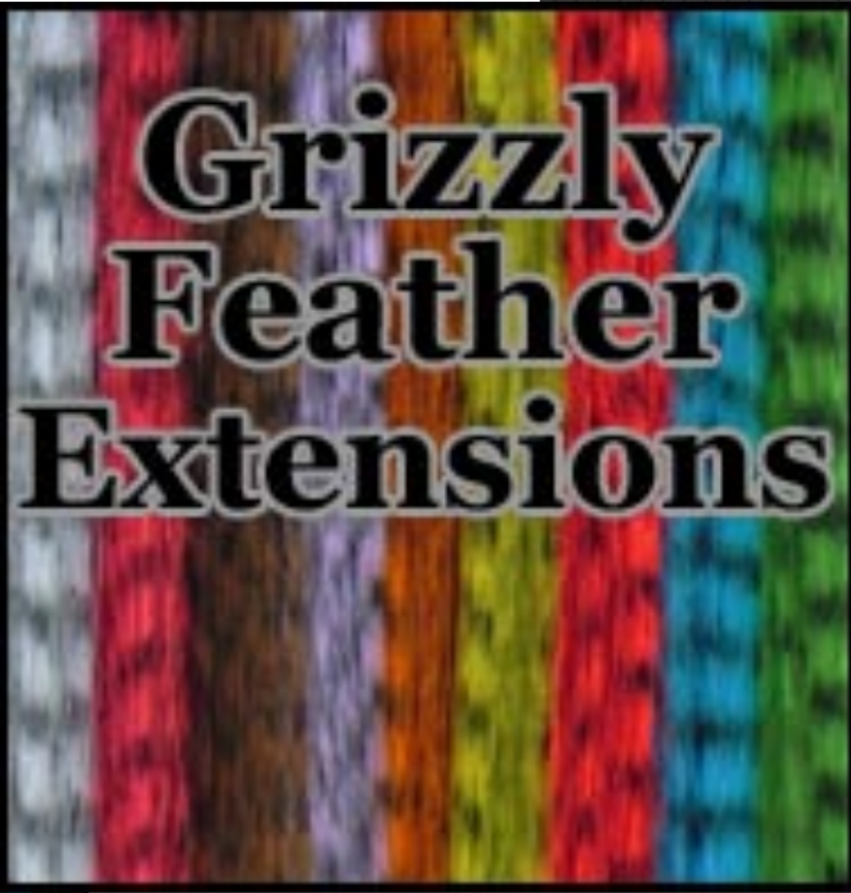 Grizzly Feather Hair Extensions