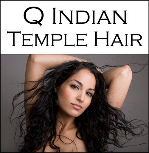 Q Indian Temple Hair - Keratin Tip