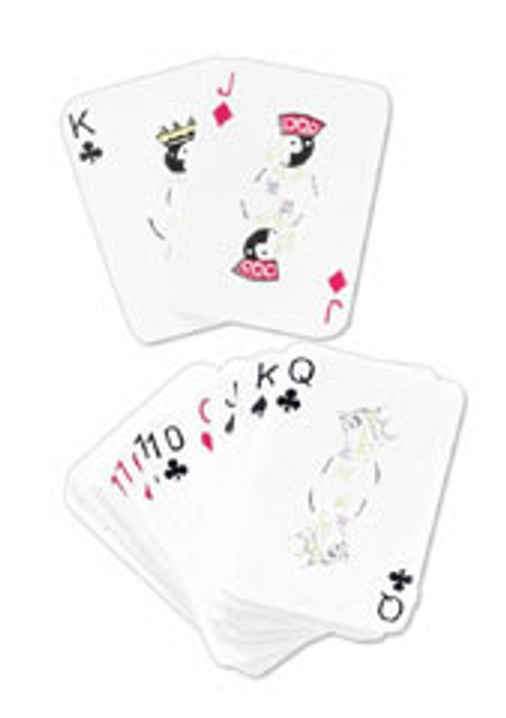Playing Cards Scrapbook Embellishment