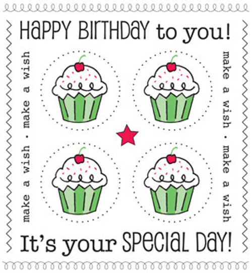 We've Got Your Sticker Plus Collection Happy Birthday Sticker Sheet by SRM Press