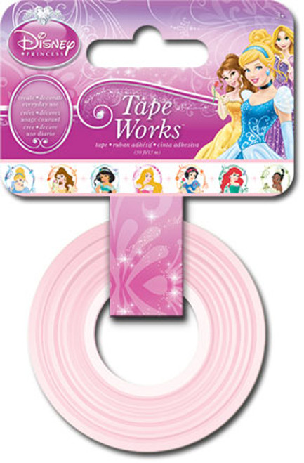 Disney Princess Collection Tape Works Self-Adhesive Washi Tape by Sandylion - 50 Feet