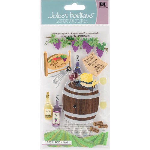 Jolee's Boutique Wine Country Scrapbook Embellishment by EK Success