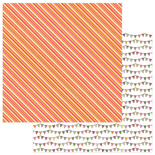Birthday Girl Wishes Collection HB2U 12 x 12 Double-Sided Scrapbook Paper by Photo Play Paper
