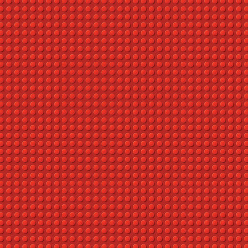 Building Block Collection Red & Blue Blocks 12 x 12 Double-Sided Scrapbook Paper by Scrapbook Customs