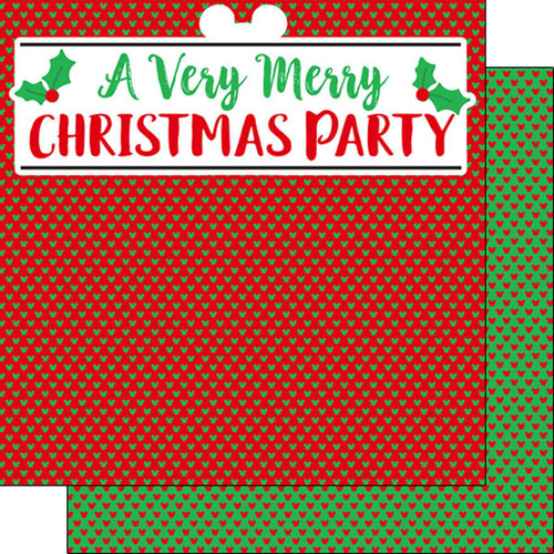 Magical Day of Fun Collection A Very Merry Christmas 12 x 12 Double-Sided Scrapbook Paper by Scrapbook Customs