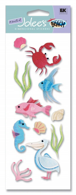 Sea Life South Vacation Scrapbook Embellishment by EK Success