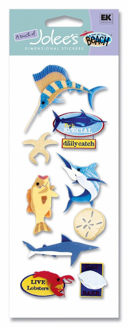 Sea Life North Vacation Scrapbook Embellishment by EK Success