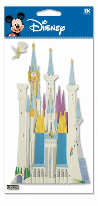 Disney Cinderella Collection Cinderella Castle Scrapbook Embellishment by EK Success